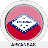 Arkansas state flag icon