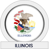 Illinois state flag icon