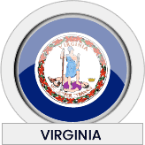 Virginia state flag icon