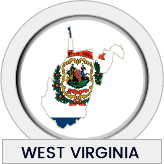 West Virginia state flag icon