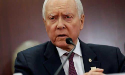 US Senator Orrin Hatch