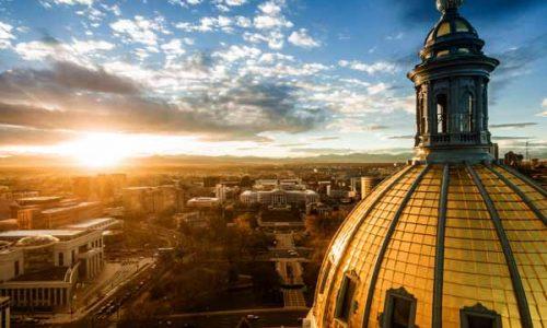 The Colorado capital on a sunny day
