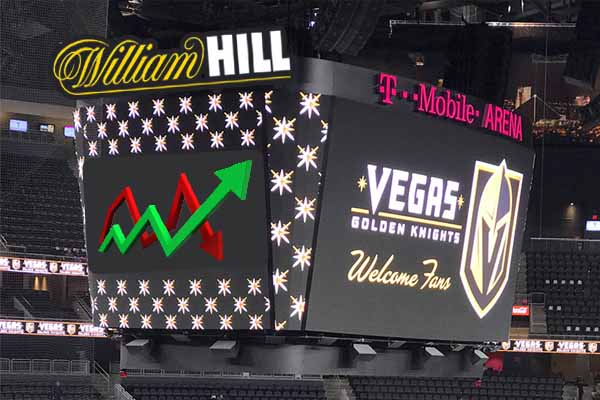 A visual display of the scoreboard