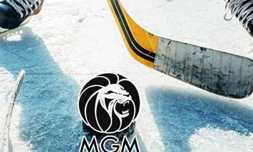 NHL skater is ready for the MGM play