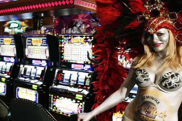 Seminole Hard Rock Cafe casino floor