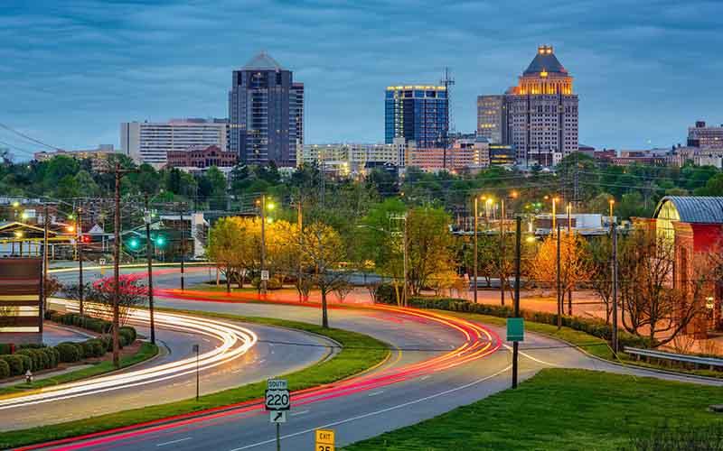 Greensboro, NC.