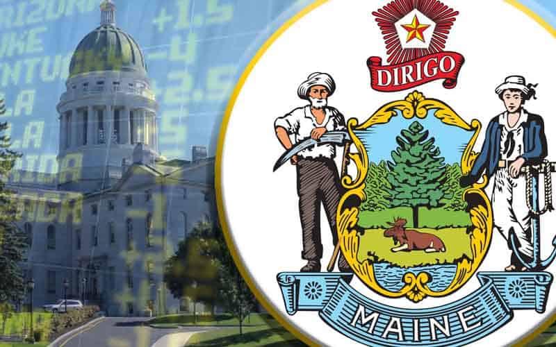 Maine sports betting, senate, and seal