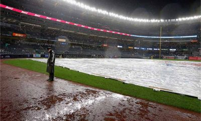 Yankees rained out