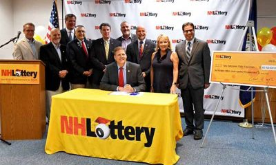 NH lottery and governor