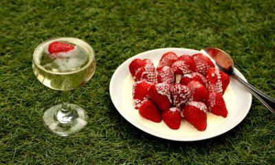 wimbledom strawberries and cream