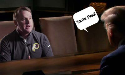 Jay Gruden getting fired by Trump