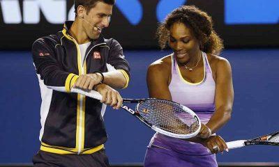 Djokovic and Williams