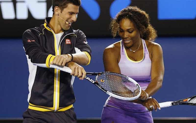 Djokovic and Williams