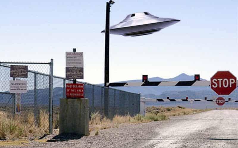 UFO area 51 raid