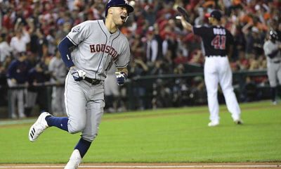 houston Astros favored in world series washington nationals