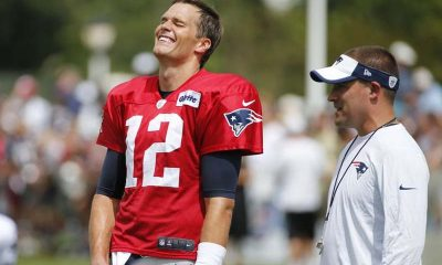 laughing tom brady