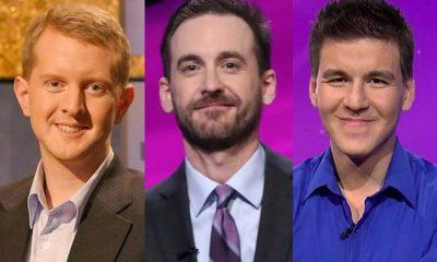 jeopardy Ken Jennings Brad Rutter and James Holzhauer