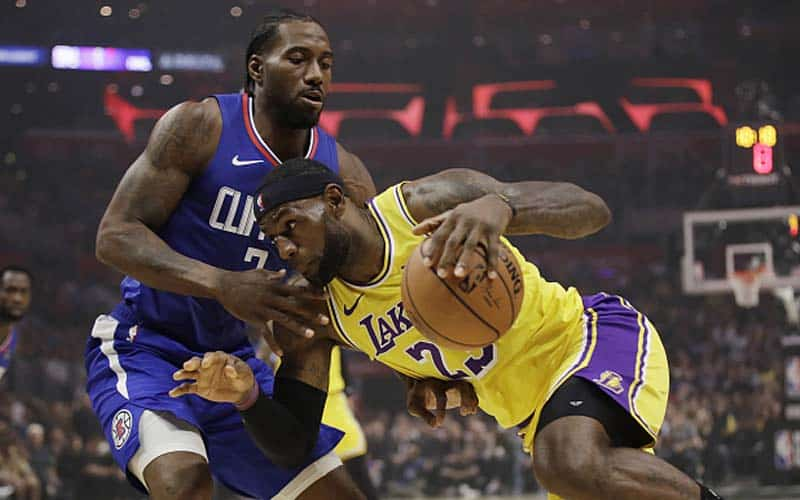 los angeles lakers clippers nba christmas