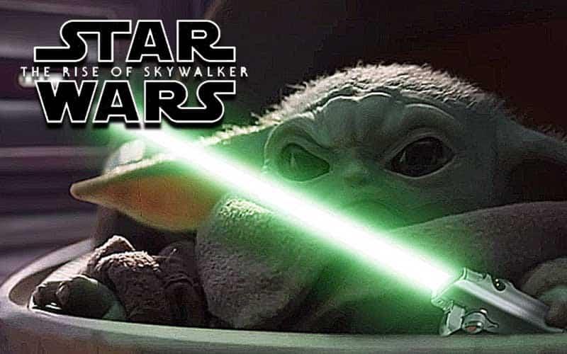 baby yoda star wars rise of skywalker