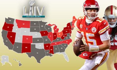 Super Bowl 54 Betting States