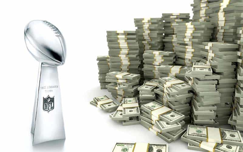 Super Bowl 54 money bet