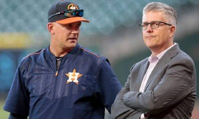 astros allegedly stole signs in 2017