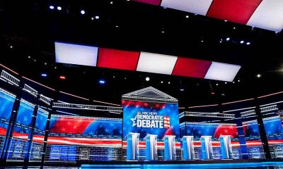 nevada debate stage