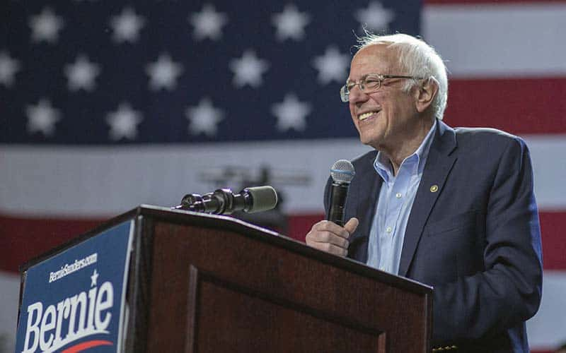 Bernie Super Tuesday Odds