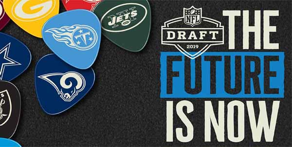 Bet on who will go first in the NFL draft on April 23rd.