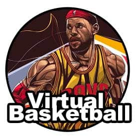 Virtual Basketball Lebron James Icon