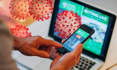 mobile sports betting coronavirus