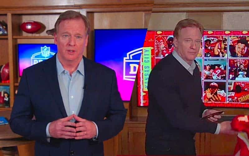 Virtual NFL draft 2020 Day 2 odds prop bets, Day 1 roger goodell