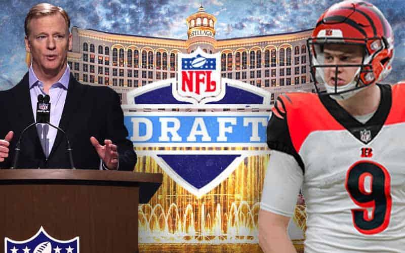 Mock NFL Draft Odds 2020 Roger Goodell Joe Burrow