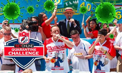 Major League Eating BetOnline Quarantine Challenge