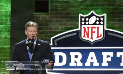 2020 NFL Draft Odds and Prop Bets sad Roger Goodell
