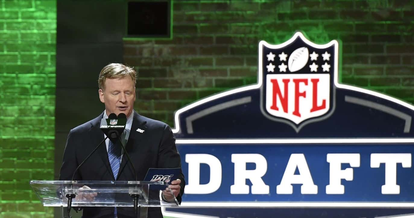 2020 NFL Draft Odds and Prop Bets sad Roger Goodell
