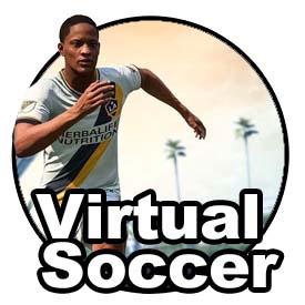 Virtual Soccer Icon