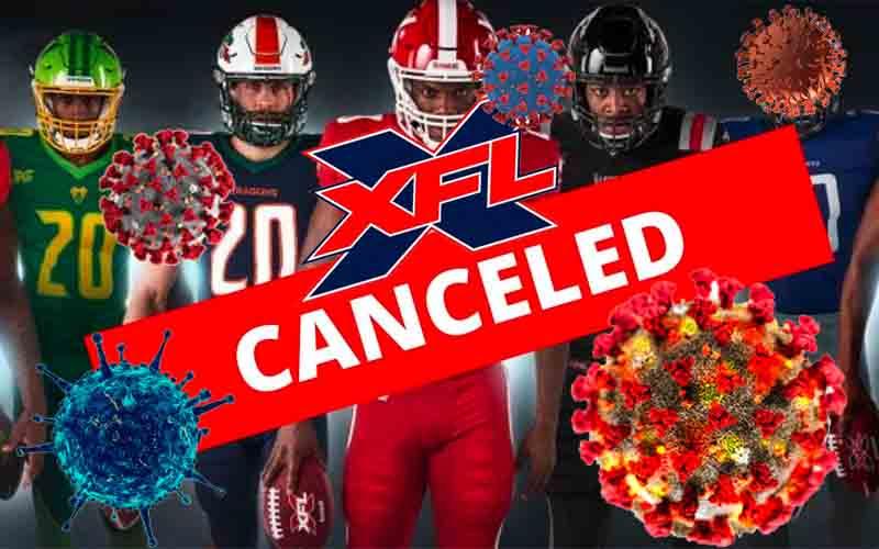 XFL Odds 2021 Canceled