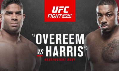 Overeem vs Harris UFC Odds