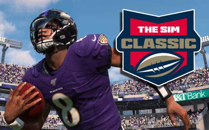Bovada The Sim Classic Madden 20 betting odds