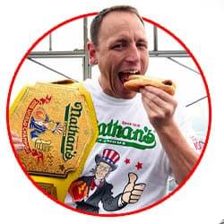 Nathan's Hotdog Contest