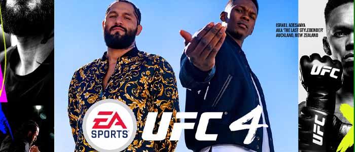 UFC 4 cover
