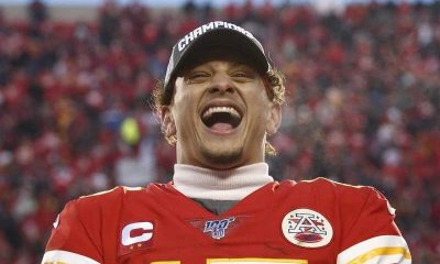 Patrick Mahomes Happy