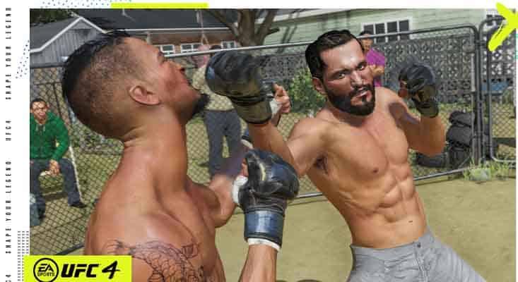 UFC4 gameplay