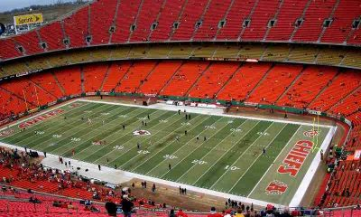 Nearly Empty Arrowhead Stadium
