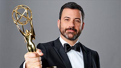 Jimmy Kimmel at the Emmy's