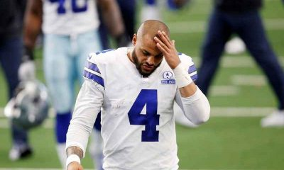 Dak Prescott looking sad