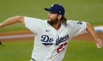 Clayton Kershaw pitching
