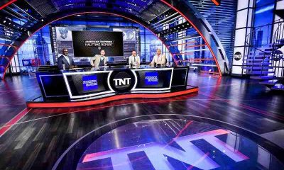 NBA on TNT set