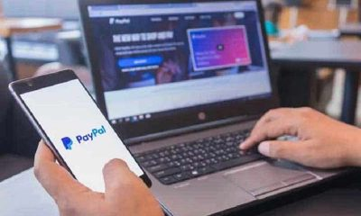 user using paypal to make an online sports betting deposit